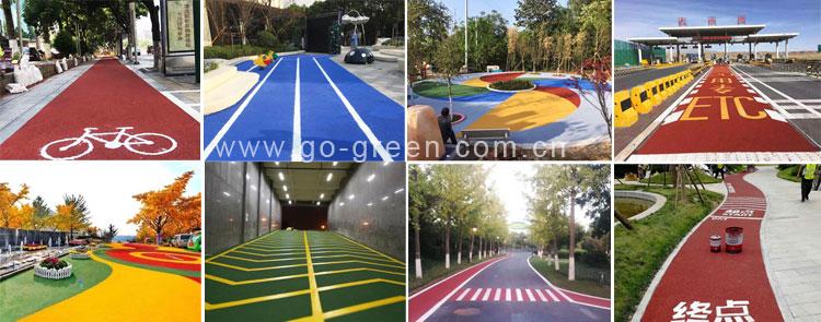 Color Antiskid Pavement