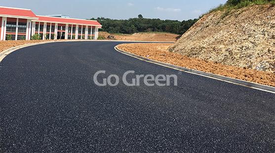 الذهاب الأخضر الأسود المسامية مشروع الأسفلت في سوتشو